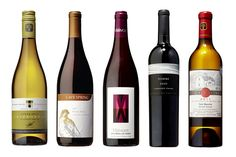 2011 Tawse Quarry Road Chardonnay, 2012 Cave Spring Niagara Escarpment Pinot Noir, 2010 Stratus Vineyards Cab Franc; 2011 Hidden Beach Nuit Blanche Rosomel