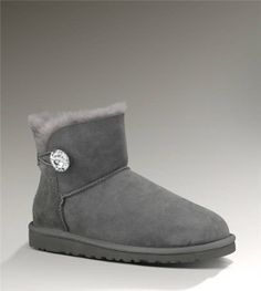 UGG Mini Bailey Button Bling 1003889 Grey Boots http://www.salesnowboots.com/ugg-mini-bailey-button-bling-1003889-grey-boots-p-403.html