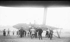 [1910] Captive airship / Ballon captif