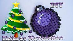 Esferas Navideñas de Hama beads   Christmas spheres