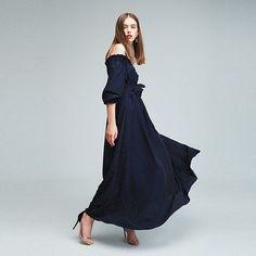 Платье #terekhov #terekhovss16 #terekhovgirls / Silk dress from Alexander Terekhov SS16 collection  Photo @zverkov_ko Model @alexandra.belyaeva