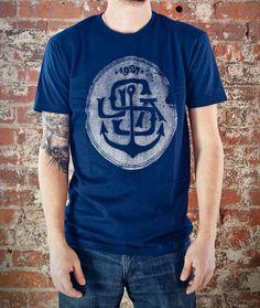 1927 Navy anchor T-shirt