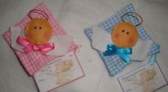Almofadas perfumadas para gavetas com anjinhos. Lembrancinhas de batizados, comunhões e aniversários