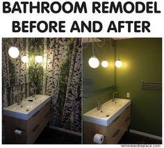 Diy Bathroom Remodel Before And After bathroom remodel cost guide | bathroom remodeling ideas