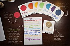 Colorful treasure hunt for pre-readers St Patrick's Day Crafts, Crafts For Kids, San Patrick Day, St. Patrick's Day Diy, Irish Traditions, St Paddys Day, Luck Of The Irish, Party Activities, 4th Birthday Parties
