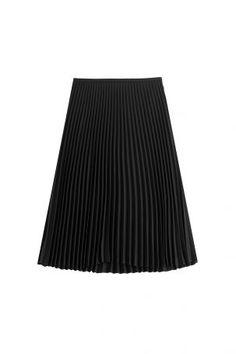 Michael Kors Collection Michael Kors Collection Plissierter Midi-Skirt…