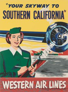 Western Airlines ~ Southern California