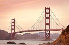 The Easiest Way To Turn Photos To Art   Learn BeFunky Golden Gate Bridge, Ponte Golden Gate, Photo Café, Bridge Card, San Diego, Romantic Weekend Getaways, West Coast Road Trip, Orange Sky, Most Beautiful Cities