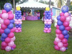 Fiesta infantil para Niña al aire libre