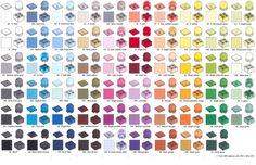 In wievielen Farben ist LEGO® erhältlich?