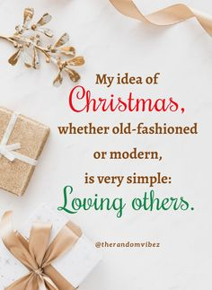 My idea of Christmas, whether old-fashioned or modern, is very simple: Loving others. #Christmasquotes #Merrychristmasquotes #Shortchristmasquotes #2020Christmasquotes #Merrychristmas2020quotes #Christmasgreetings #Inspirationalchristmasquotes #Cutechristmasquotes #Christmasquotesforfriends #Warmchristmaswishes #Bestchristmasquotes #Christmasbiblequotes #Christmaswishesforfamily #Christmascaptions #Festivechristmasquote #Merrychristmasimage #Merrychristmaspicture #Santaclausquote #therandomvibez Christmas Wishes For Family, Short Christmas Quotes, Christmas Quotes For Friends, Merry Christmas Pictures, Christmas Bible, Merry Christmas To All, Christmas Knitting, Christmas Greeting Cards, Christmas Greetings
