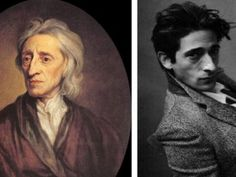 "Adrian Brody and John Locke (the Philosopher, not the one from ""Lost"")"