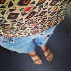 Levi's Jeans SEMPRE - Jeans vintage levi's, top vintage in seta