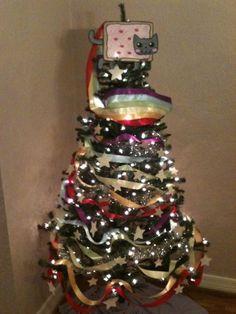 Nyan Cat Christmas tree
