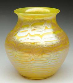 Loetz Glass Phanomen Vase.