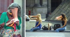 French photographer Antoine Geiger creates photos of people having their faces sucked into their cellphones. The project, titled SUR-FAKE, touches on issues of technology dependance and addiction: It is placing the screen as an object of 'mass subculture', alienating the relation to our own body, and more generally to the physical world.
