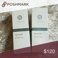 Nerium night Cream Still in packaging  Bundle of 2 Makeup