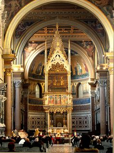 St. John Lateran, Rome, Italy  The heads of St. Peter and St. Paul ( relics) are housed here.