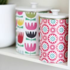 DIY – Upcycled tins with lids!