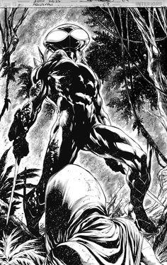 Black Manta by Ivan Reis