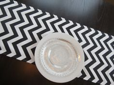 Chevron Table Runner in Black & White by Premier Prints, Modern Runner for Parties, Showers, Wedding, Wedding Decor Fabric Ribbon, Ribbon Bows, Chevron Table Runners, Free Fabric Samples, Premier Prints, Orange You Glad, Black Decor, On Your Wedding Day, Halloween Fun