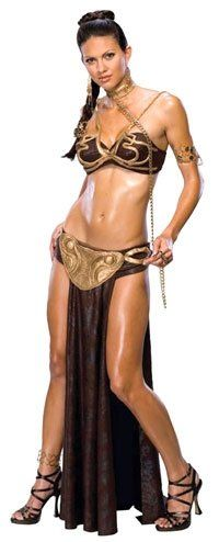 In the sexy princess leia slave star wars costume you will boldly wow