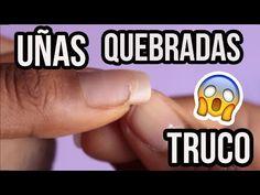 TRUCO/LIFEHACK PARA REPARAR UNA UÑA QUEBRADA - Camideas :D :D - YouTube