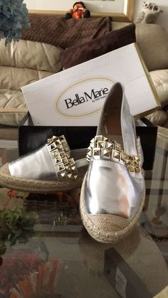 1627c38a17b4 Silver Flats - Bella Marie Women Shoes  fashion  clothing  shoes   accessories