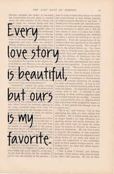 We have the best love story