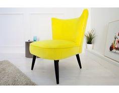 Fotel Pop Yellow