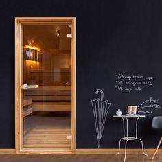 Tapeta na dvere v rolke Bimago Sauna, 90 x 210 cm Wallpaper Roller, Wallpaper Door, Wallpaper Stickers, Mural Wall Art, Wall Art Decor, Aquarium Mural, How To Install Wallpaper, Kids Room Furniture, Flat Shapes