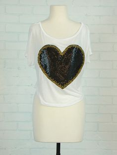big heart shirt