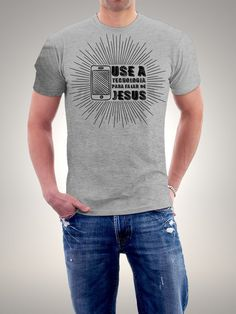 Camiseta Use a Tecnologia