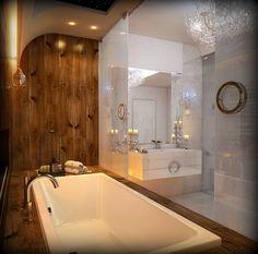 Uno splendido bagno degno della Regina delle Nevi