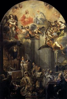 """Mass of St John of Mathaa"" (1666), Juan Carreño de Miranda (España) - Barroco"