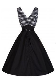 vintage φόρεμα swing Valentina