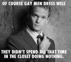 Lol! ;D LO. Neil Patrick Harris is a role model for the gay community! Love him!