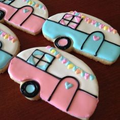 Hungry? You have to take these RV Camper Cookies on your next glamping trip! Glamping Ideas for the Ultimate Camping Trip for the Girls! Glamping: where stunning nature meets modern luxury. #etsy #glamping #glampingideas #camping #glampingparty #glampingtent #campinghacks #campingfood #glampingfood #rvcookies #campercookies #camper