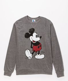 Look what I found on #zulily! Heather Gray Classic Mickey Mouse Pullover #zulilyfinds
