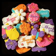 Thank you Cookies - Icings by Ang