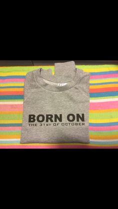 Verjaardagscadeau #Personlijk #Flex #BirthDaySweater