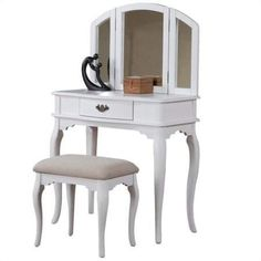 Admirable Bobkona F4060 St Croix Collection Vanity Set With Stool Spiritservingveterans Wood Chair Design Ideas Spiritservingveteransorg