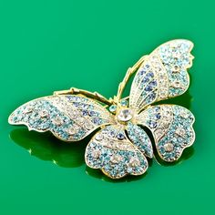 imperial family faberge jewelry | Butterfly Faberge Brooch