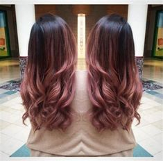 Ideas for hair dark pink ombre Dyed Hair Ombre, Pink Ombre Hair, Dyed Hair Pastel, Dyed Blonde Hair, Platinum Hair Color, Bold Hair Color, Hair Dye Colors, Cabelo Rose Gold, Peekaboo Hair