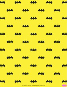 Free Batman background printable. Great pattern for party printables, scrapbook, gift wrapping paper and lots more!