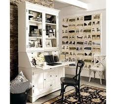 Creative Ideas Home Office Furniture – www.c… - Home Office Decoration Mesa Home Office, Home Office Desks, Home Office Furniture, Office Nook, Office Workspace, Furniture Ideas, Small Workspace, Desk Space, Repurposed Furniture