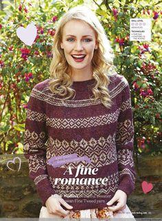 Хороший романтично - тканый счастливым - счастливое вязание блог