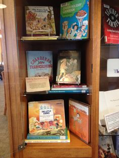 In the Gourmet Reads display you will find an assortment of cookbooks for chefs of all ages, with a focus on recipes for the upcoming holiday season