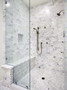 Bathroom Showers with Seats Awesome top 50 Best Shower Bench Ideas Relaxing Bathroom Seat Designs Small Shower Remodel, Small Bathroom With Shower, Small Showers, Walk In Shower, Modern Bathroom, Bathroom Showers, Small Bathrooms, Showers With Seats, Shower Niche