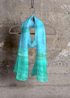 Cashmere Silk Scarf - Matrix by VIDA VIDA